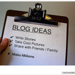new blog ideas