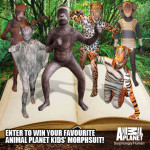 Animal Planet morphsuits