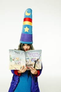Winnie the Witch reading