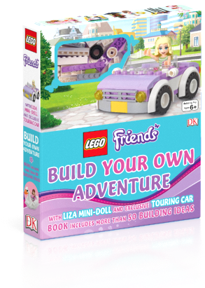 LEGO Friends book