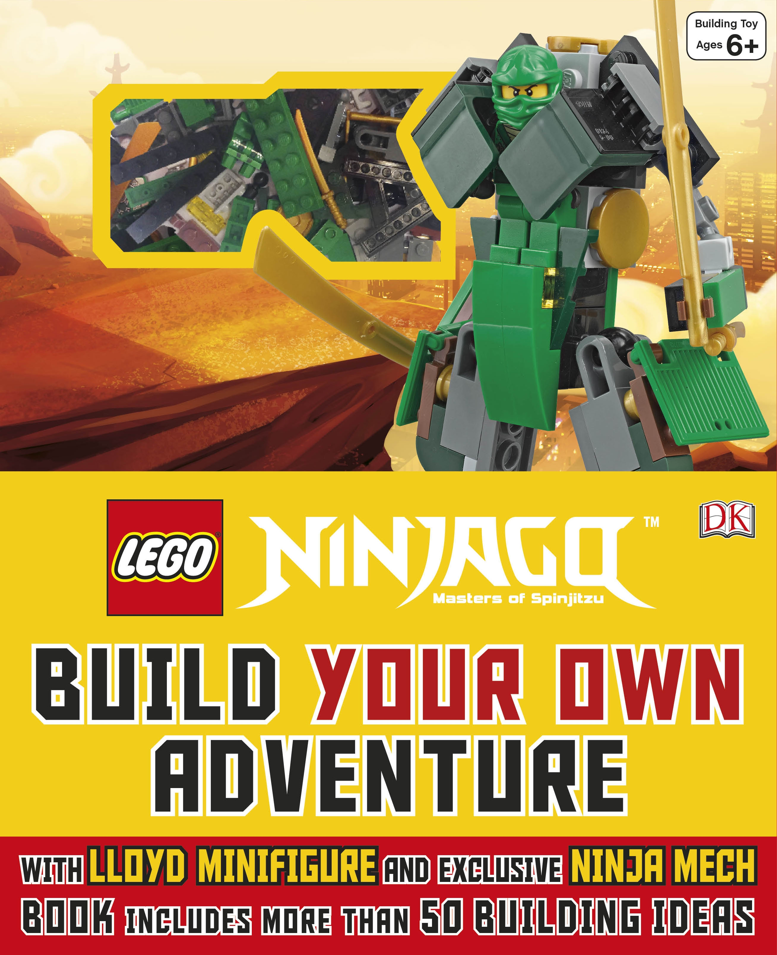 Uk giveaway win 1 of 4 lego build your own adventure for Build your own building