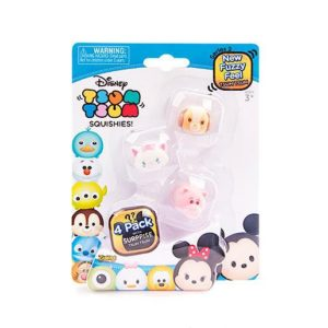 tsum tsum squishies four pack
